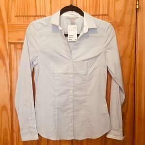 Long sleeve button down top NWT!